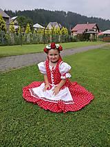 Detské súpravy - Dievčenská folkorna súprava - 11099344_