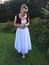 Sukne - Dámska ľudová súprava - 11099481_