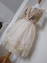 Šaty - Folklorna sviatočná súprava - 11100392_