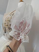 Šaty - Folklorna sviatočná súprava - 11100393_