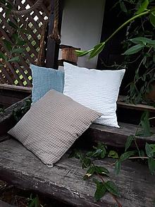 Úžitkový textil - Obliečka na vankúš Comfort Line (40x40 cm - Modrá) - 11101241_