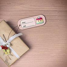 Papiernictvo - Puding(želé?) usmiaty menovka (ovocný) - 11100697_