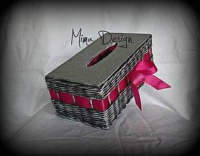 Krabičky - Krabička na kapesníky - 11103273_