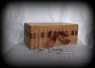 Krabičky - Krabička na kapesníky - 11103297_