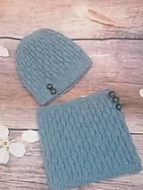 Detské čiapky - Merino čiapka - 11104354_