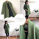 Kabáty - girlfriend coat .úplne celý vlnený - 11103659_