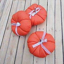 Dekorácie - tekvička (Oranžová) - 11101636_