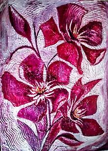 Obrazy - obraz kvety - 11103753_
