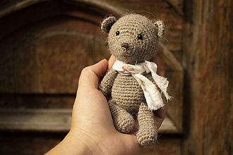 Hračky - Medvedík Albert - 11102542_