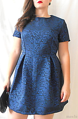 Šaty - dámske elegantné šaty Noir - 11103685_