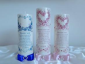 Svietidlá a sviečky - Ďakovné pre rodičov - 11102715_