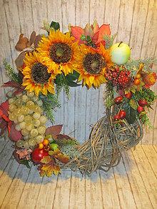Dekorácie - Jesenný veniec - 11104912_