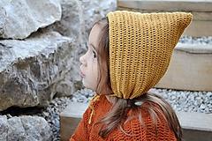 Detské čiapky - Detský čepček biovlna/biobavlna - 11104856_