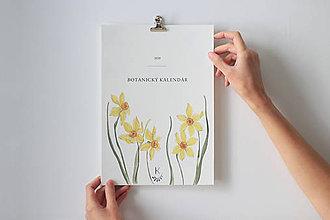 Papiernictvo - Botanický kalendár 2020 - 11102434_