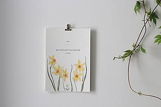 Papiernictvo - Botanický kalendár 2020 (Botanický kalendár 2020 s veršíkmi) - 11102441_