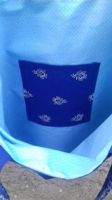 Nákupné tašky - Bavlnena taška s folklorným vzorom - 11103853_