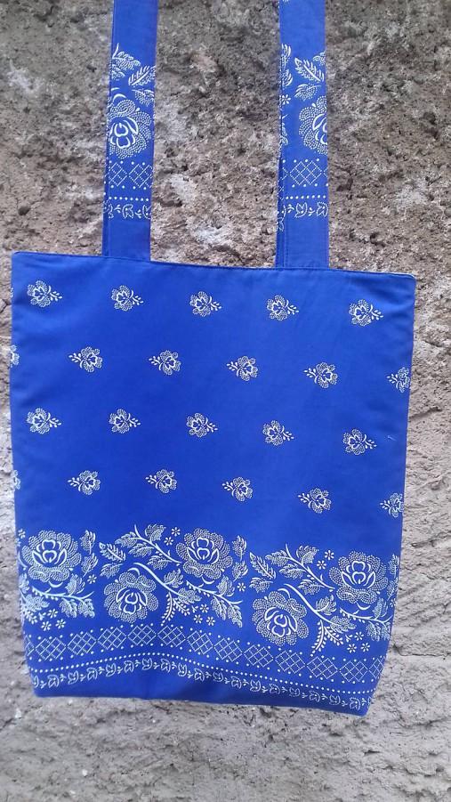 Bavlnena taška s folklorným vzorom