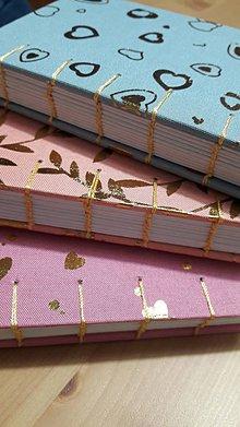 Papiernictvo - Ručne šité zápisníčky - 11102548_
