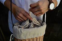 Kabelky - Prútená kabelka na rameno N°5 - 11103680_