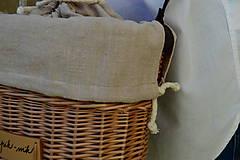 Kabelky - Prútená kabelka na rameno N°5 - 11103683_