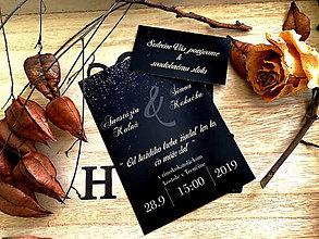 Papiernictvo - Svadobné oznámenie 34 - 11102008_
