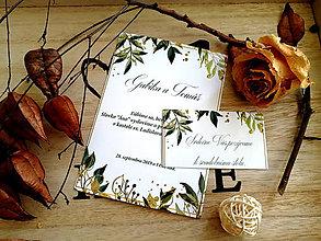 Papiernictvo - Svadobné oznámenie 37 - 11102048_