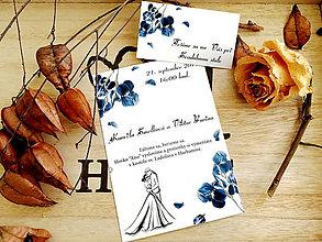 Papiernictvo - Svadobné oznámenie 38 - 11102077_
