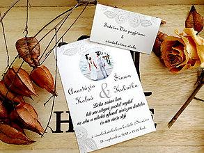 Papiernictvo - Svadobné oznámenie s vašou FOTKOU 39 - 11102085_