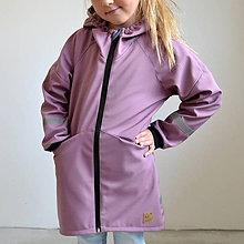 Detské oblečenie - Softshellový kabát staroružový - 11102354_