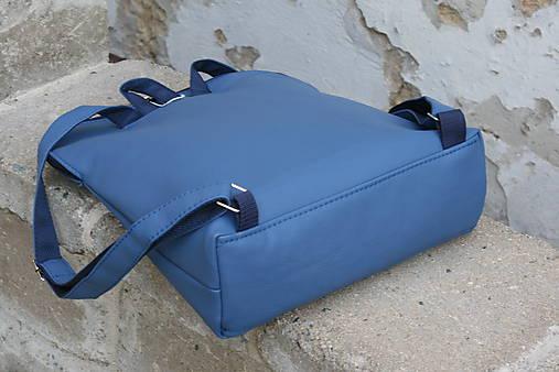 batoh Paulína modrotlačový modrá AM 1