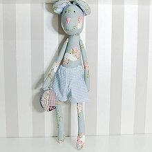 Bábiky - Jesenný Macko (Modrá) - 11102300_