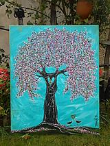 Obrazy - Strom večnej lásky - 11104738_