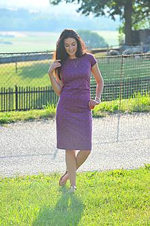 """Šaty - """"Rastúce"""" tehotenské i netehotenské - bodky - 11103221_"""
