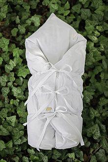 Textil - Biela snehobiela PERINKA z peria - 11106793_