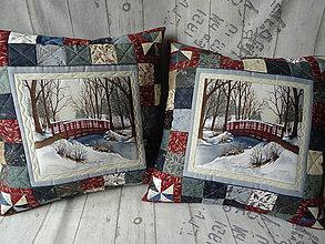 Úžitkový textil - Winter Dream ... vankúše - 11108257_