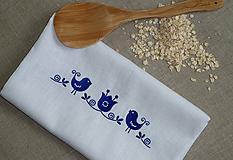 Úžitkový textil - Ramia vrecko Vtáčik SlovAB - 11108547_