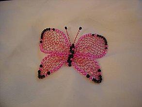 Odznaky/Brošne - Motýlik - 11105761_