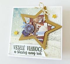 Papiernictvo - pohľadnica vianočná - 11105388_