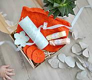 Svietidlá a sviečky - Orange Cloud - darčeková krabica - 11107861_