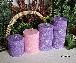 Svietidlá a sviečky - Classic - adventné sviečky - 11106779_