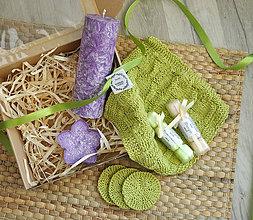 Svietidlá a sviečky - Vigneto - darčeková krabica - 11107901_