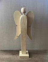 Socha - Drevený anjel - 11109695_