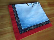 Úžitkový textil - Obrus Vianoce v lese - 11105246_