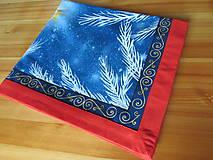 Úžitkový textil - Obrus Vianoce v lese - 11105247_