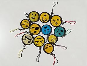 """Kľúčenky - Prívesok """"emoji"""" - 11106218_"""