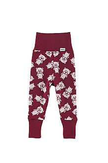 Detské oblečenie - Merino rastúce nohavice: VZORNÍK - 11105341_