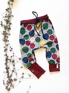 Detské oblečenie - Rastúce tepláky Balóny - 11107727_
