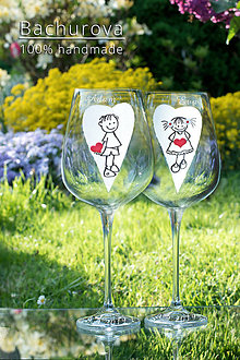 Nádoby - Svadobné poháre - 11106458_