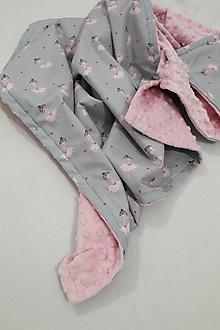 Textil - Minky deka Tanečnica, 100x70cm - 11109284_