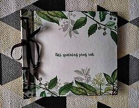 Papiernictvo - Fotoalbum klasický polyetylénový obal s potlačou a textom - 11108751_